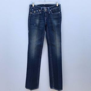 True Religion Billy Big T Straight Jeans 27 #1761